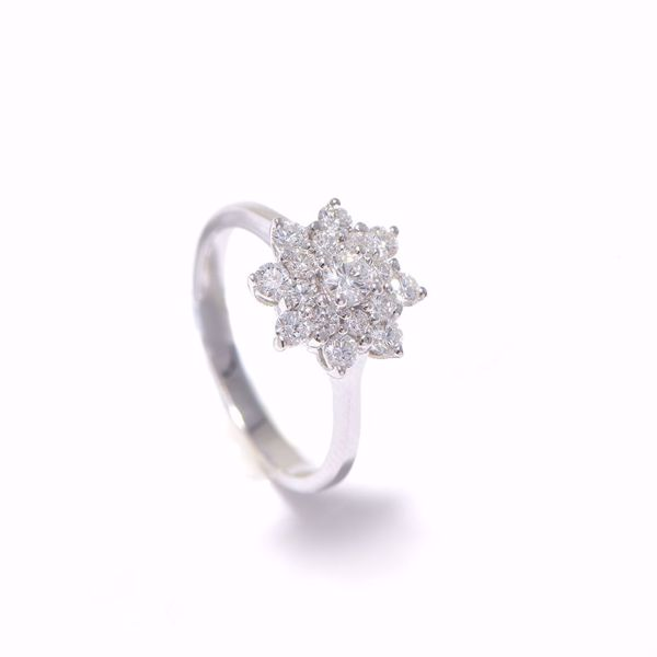 Picture of Classic Flower Diamond Ring