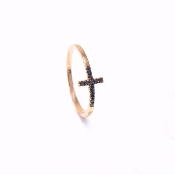 Picture of Classy Diamond Cross Ring
