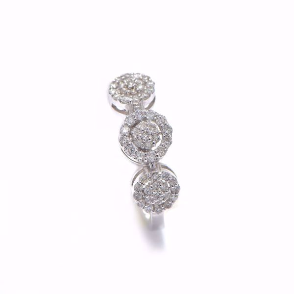 صورة Fancy Tripple Diamond Ring