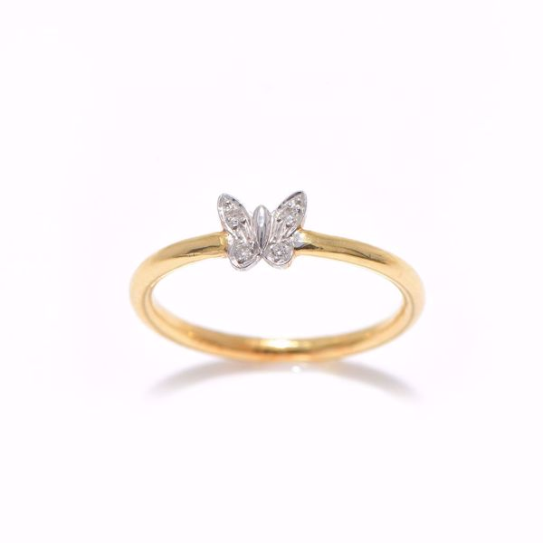 Picture of The Diamond Butterfly Ring