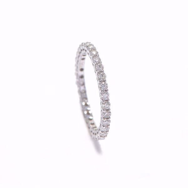 Picture of Charming White Diamond Alliance Ring