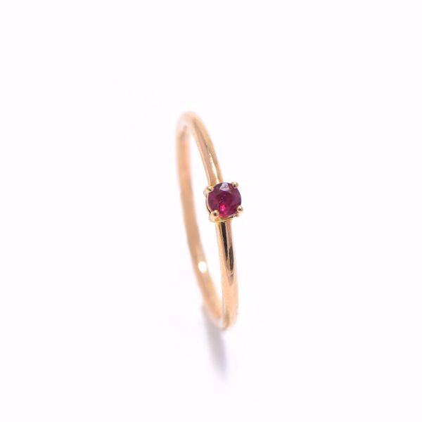 Picture of Lovely Simple Ruby Ring