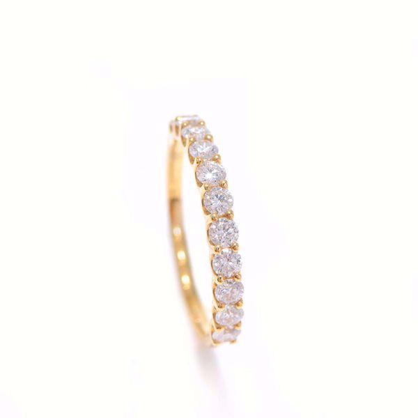 Picture of Impressive White Diamond Half-Turn Alliance Ring
