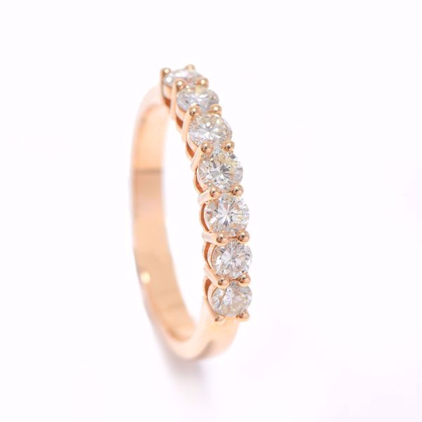 Picture of Artistic Half-Turn Diamond Alliance Ring