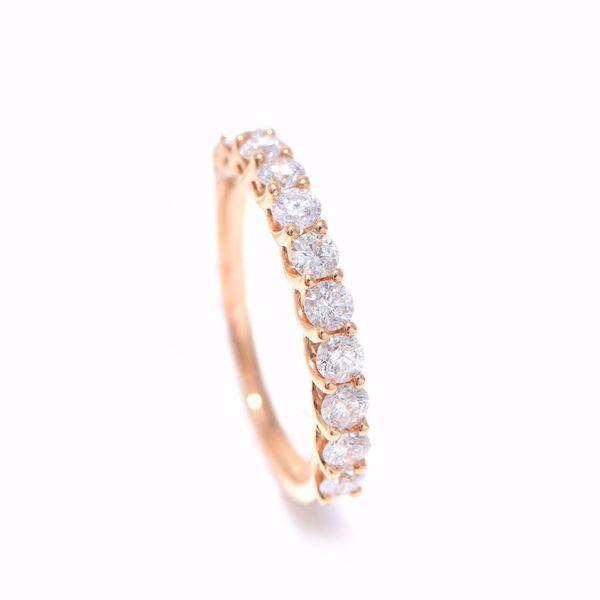 Picture of Glamorous Half-Turn Alliance Diamond Ring
