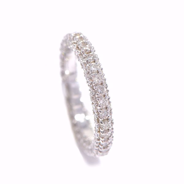 Picture of Stunning White Diamond Alliance Ring