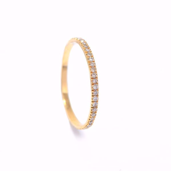 Picture of Shinny Diamond Alliance Ring
