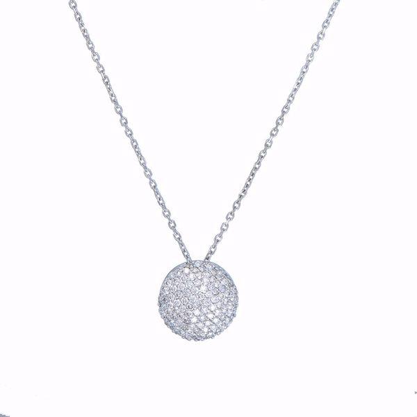 Picture of Attractive White Diamond Pendant