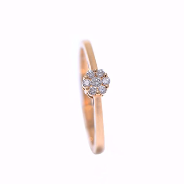 Picture of Charming Illusion Diamond Solitaire Ring