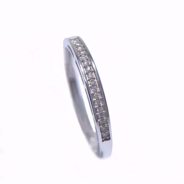 Picture of Provocative White Diamond Alliance Ring