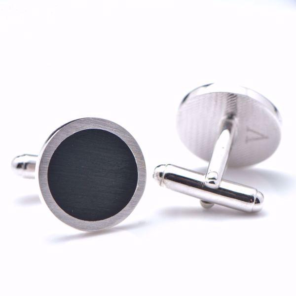 Picture of Round Silver Cufflinks