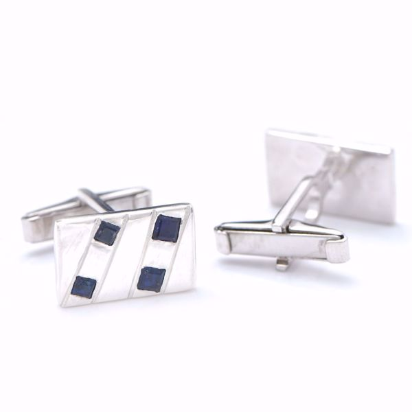 Picture of Sapphire Cufflinks