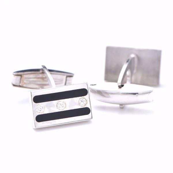 Picture of Stylish Diamond Cufflinks