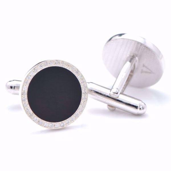 Picture of Round Diamond Cufflinks
