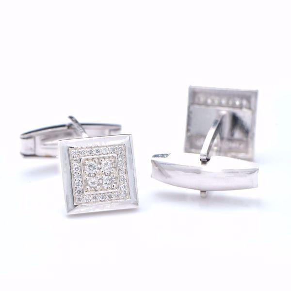 Picture of Shining Diamond Cufflinks