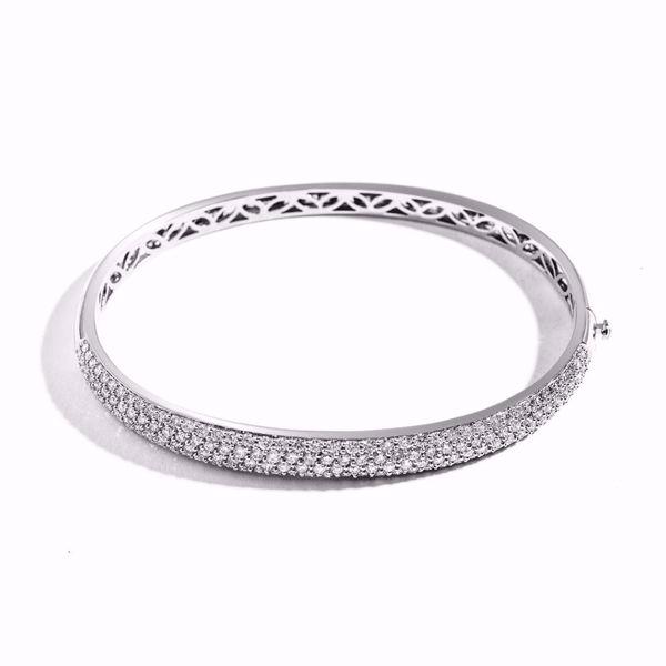 Picture of Classic Diamond Bangle Bracelet