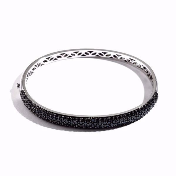 Picture of Black Diamond Bangle Bracelet