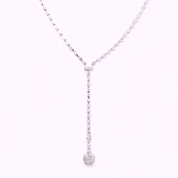 Picture of Alluring White Diamond Necklace