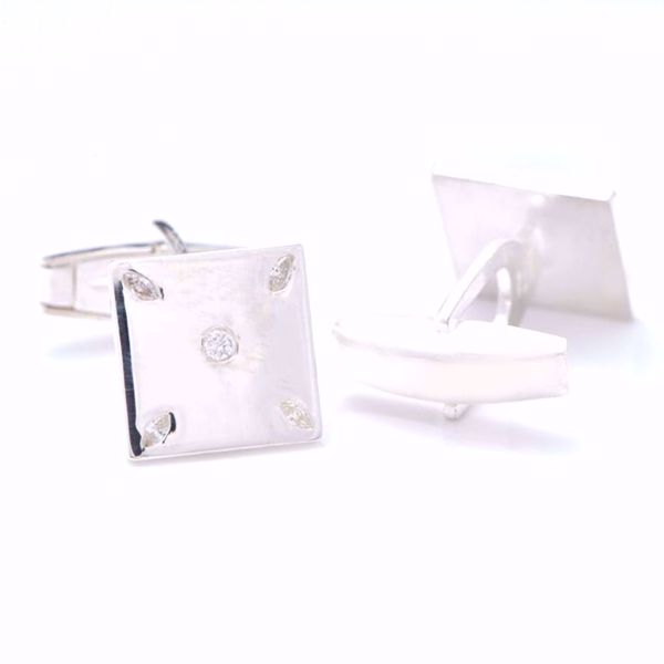 Picture of Five Dice Diamond Cufflinks