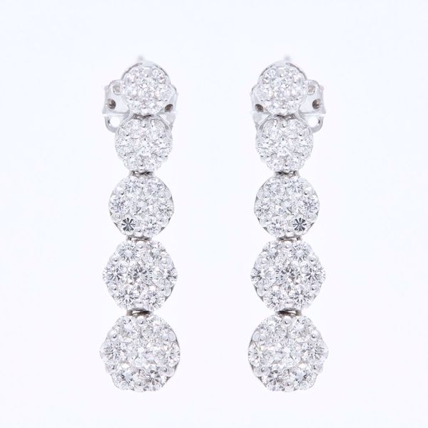 Picture of Diamond Fall Earrings