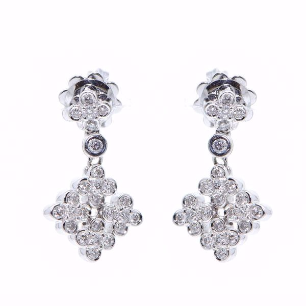 Picture of Fancy Diamond Earrings