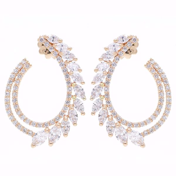 Picture of Shiny Diamond Earrings
