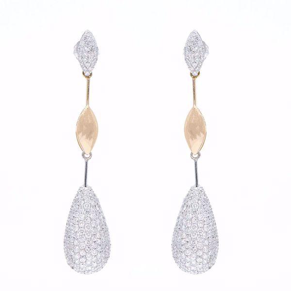 Picture of Fancy Diamond Earrings