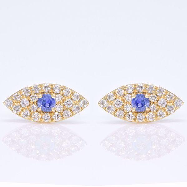 Picture of Eye Diamond Earrings