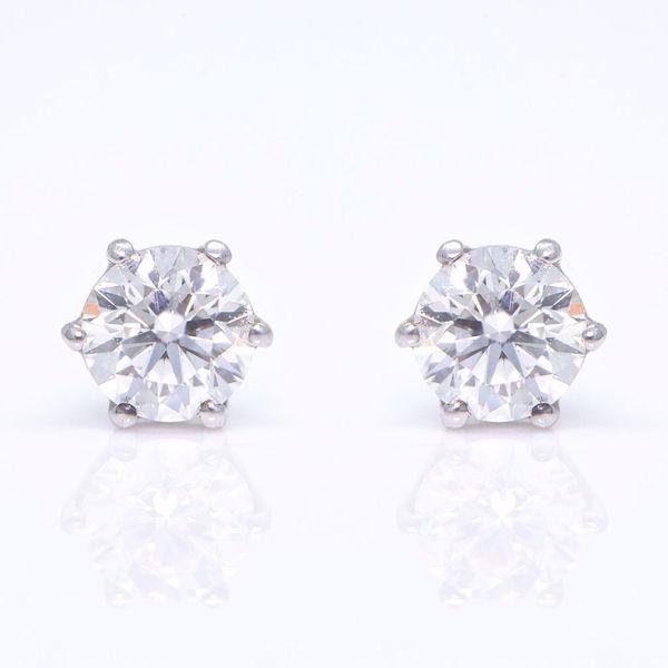 Picture of Fancy Whole Diamond Earrings