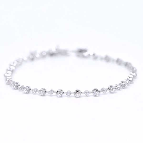 Picture of Fancy White Diamond Bracelet
