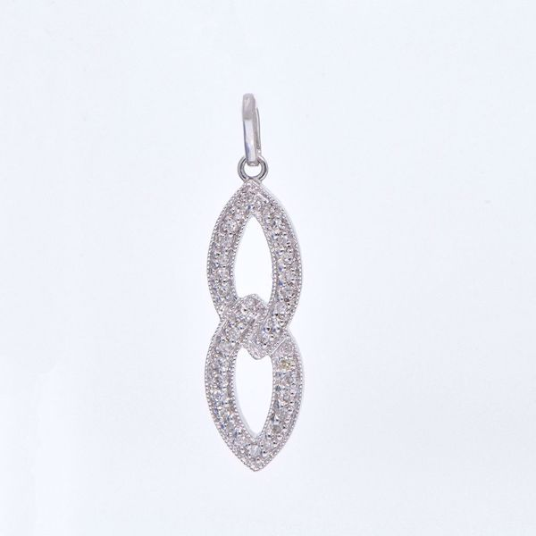 Picture of 8 Shape Diamond Necklace