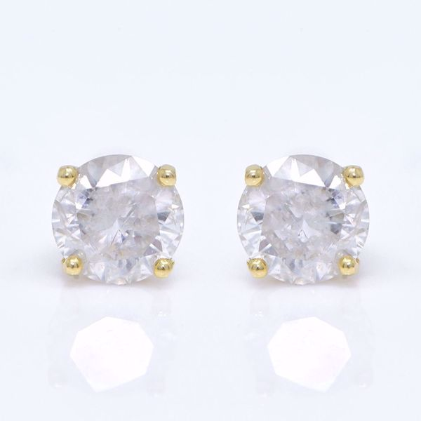 Picture of Diamond Stone Earrings