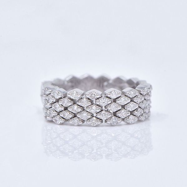 Picture of Shiny Fancy Diamond Ring