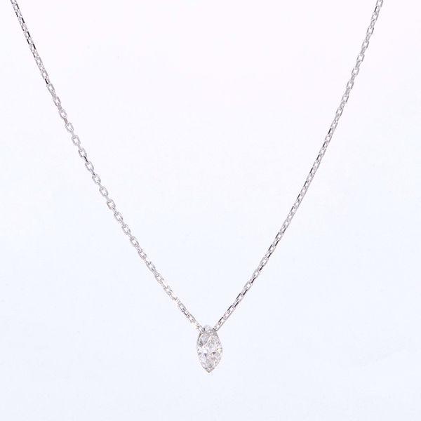 Picture of Glamorous White Diamond Necklace