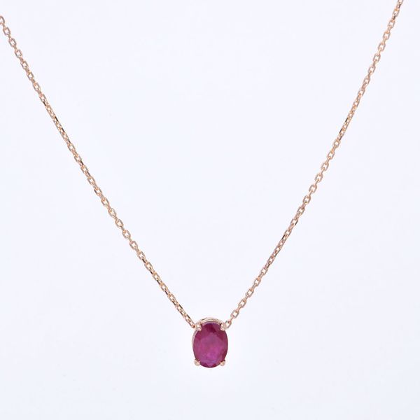 Picture of Lovely Ruby Necklace