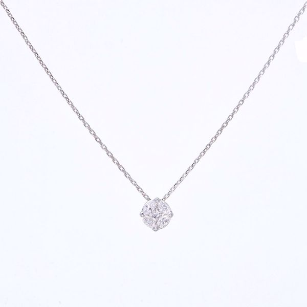 Picture of Timeless Diamond Illusion Necklace