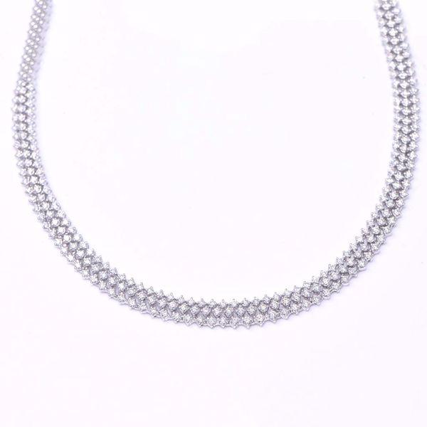 Picture of Arresting  White Diamond Necklace