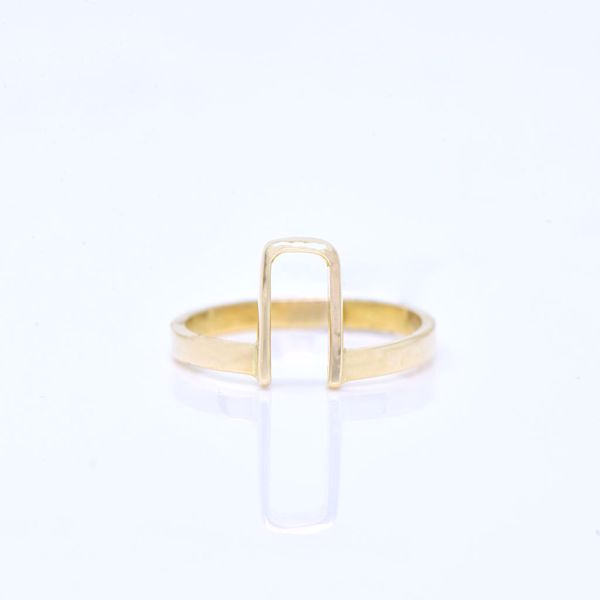 Picture of Stylish Gold Ring - JRS Handmade Jewelry Collection