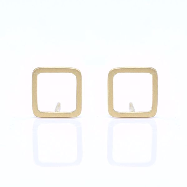 Picture of Square Earrings - JRS Handmade Jewelry Collection