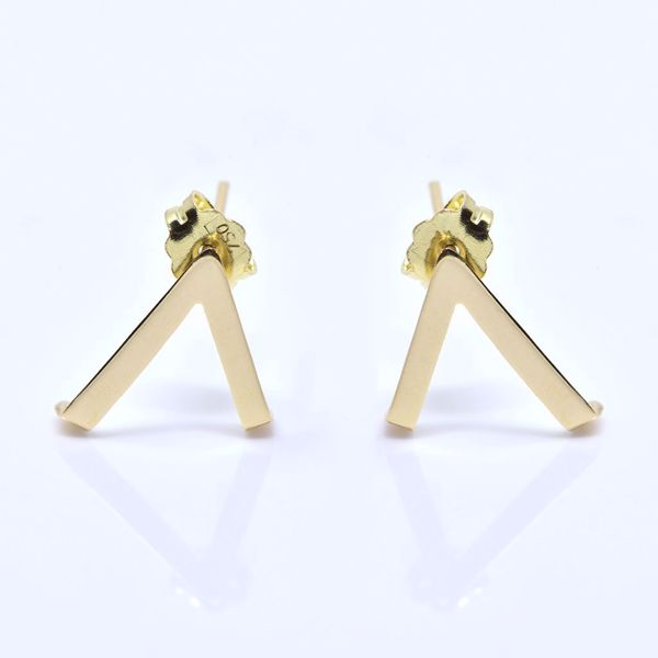 Picture of V Shape Earrings - JRS Handmade Jewelry Collection