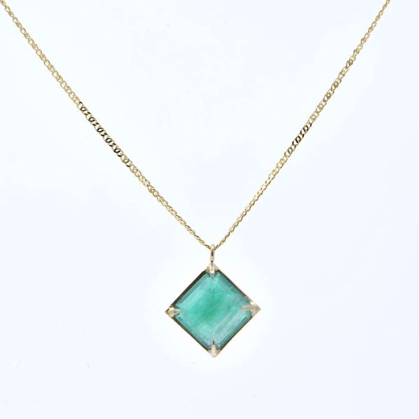 Picture of Emerald Pendant - JRS Handmade Jewelry Collection