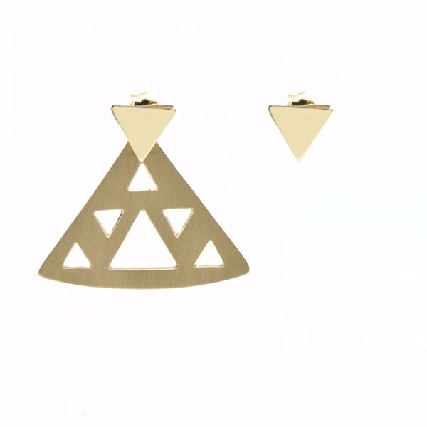 Picture of Triangle Earrings - JRS Handmade Jewelry Collection